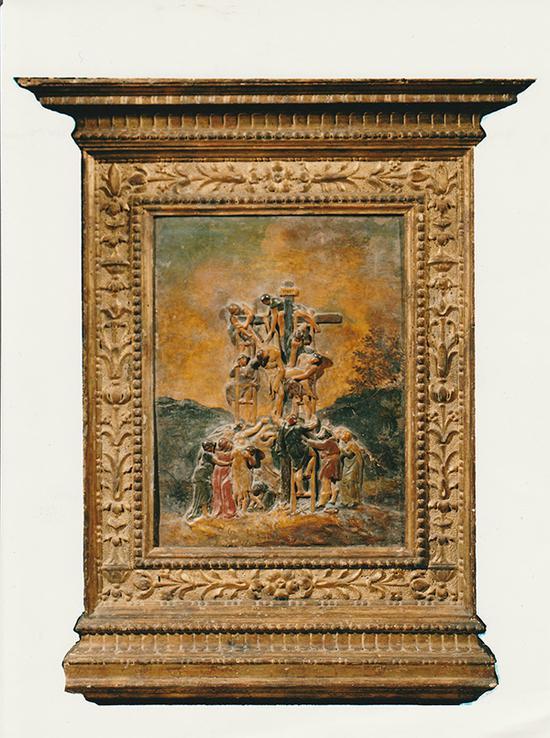 米开朗基罗·博那罗蒂 意大利 耶稣下十字架 77×45cm 彩绘灰泥 16世纪