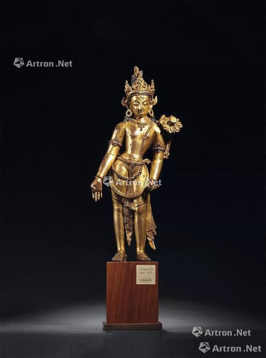 NO.49 13-14世纪 莲花手观音