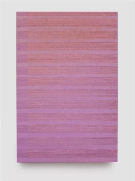 迟群,平行-粉红No.1,150×100cm,布面油画,2015