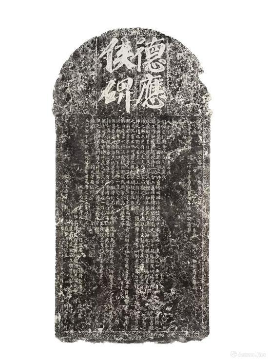 拍品编号27 北宋元丰七年(1084年) 耀州窑神碑碑拓一轴