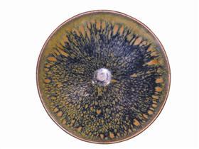 北宋磁州窑爆斑斗笠盏,成交价4.75万美元,约合人民币30.14万元