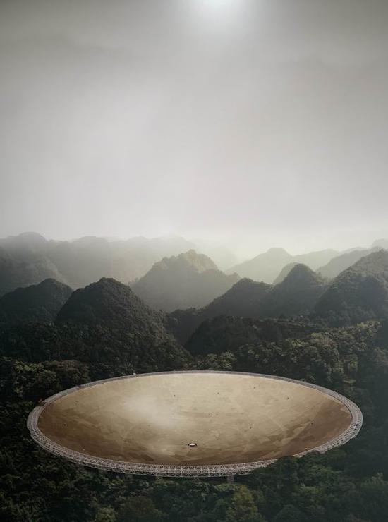 迈克尔·纳贾尔,《五百米口径球面射电望远镜》