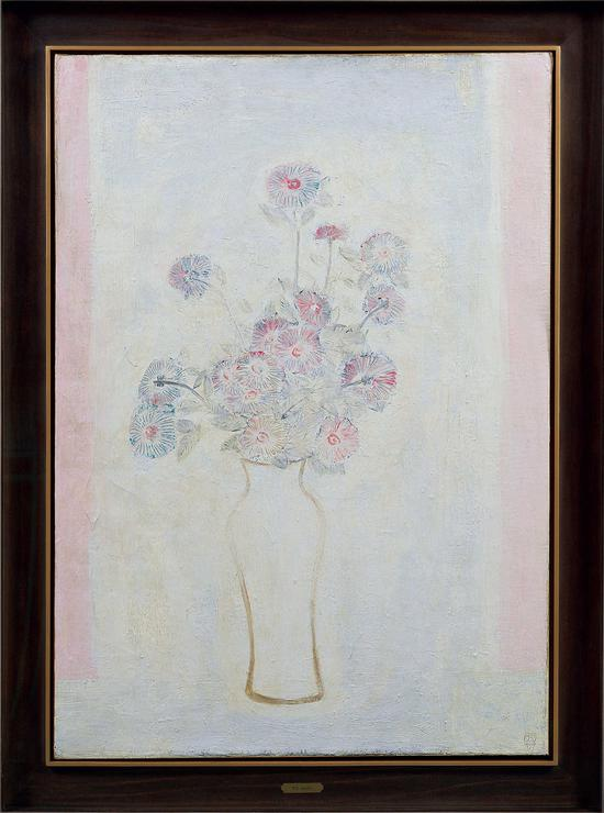 《白瓶粉红菊》拍卖出5520万元