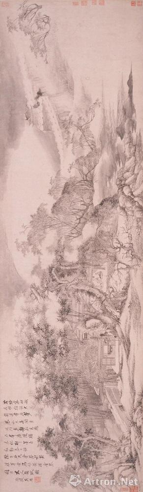 吴历 《葑溪会琴图卷》 上海博物馆藏