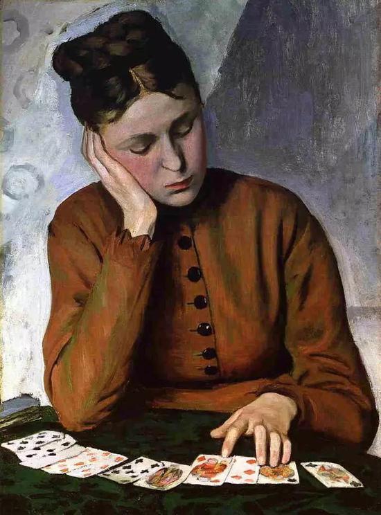 巴齐耶《算命人》,1869年