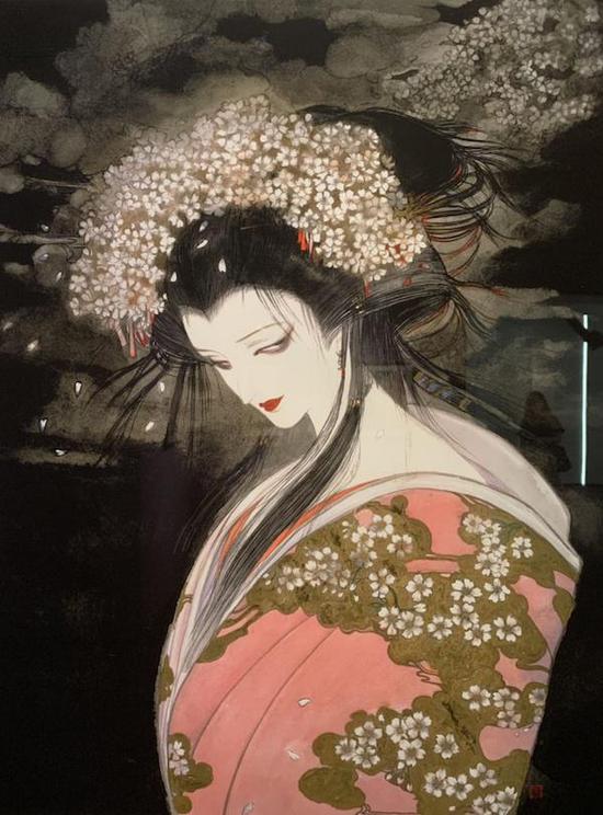 天野喜孝,《樱姬》,1986