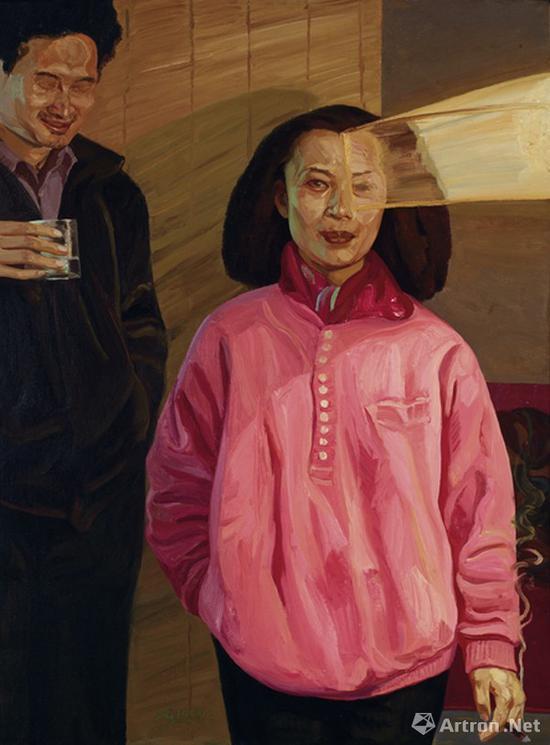刘小东《求婚》1990年 成交价:1265万元