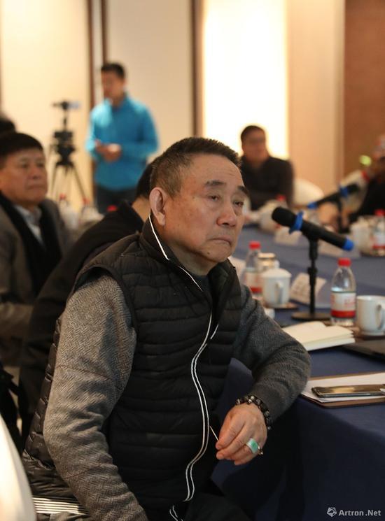 策展人、批评家皮道坚先生(摄影:吴二)