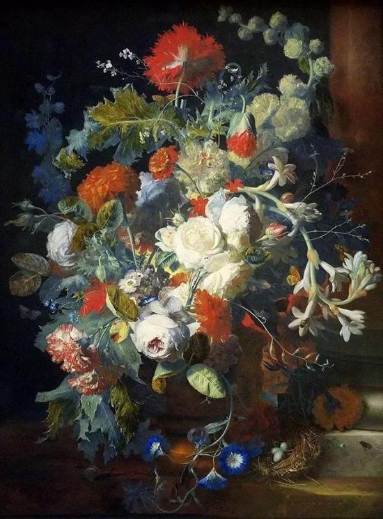 扬·梵·海以森(Jan van Huysum)作品