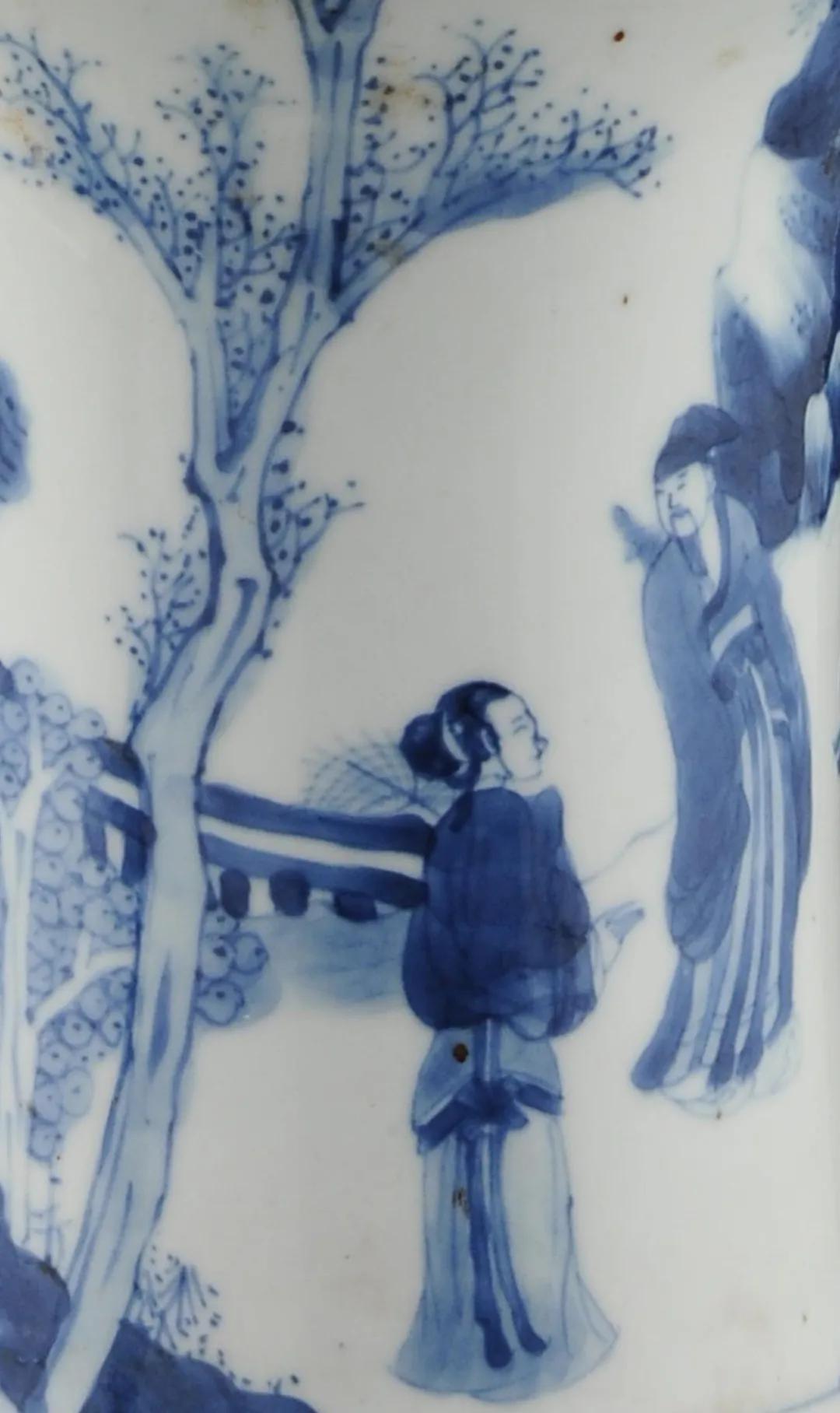 这件康熙瓷,连哪天烧的都写上了