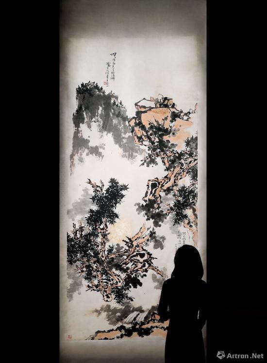 潘天寿指墨巨制《无限风光》现身中国嘉德2018年秋拍
