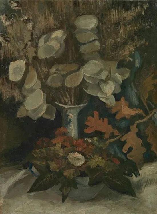 你所不了解的梵高被绘画耽误的花艺师