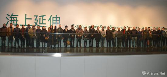 """""""海上延伸""""上海艺术家联合大展"""