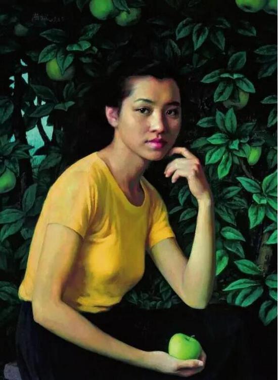 > 靳尚谊,《果实》,1985年