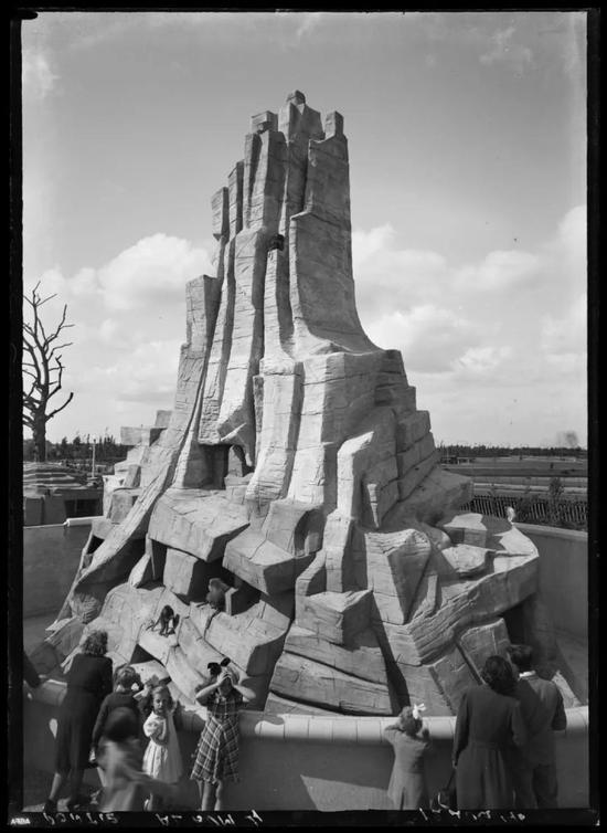 建筑师Burg的荷兰式猴山