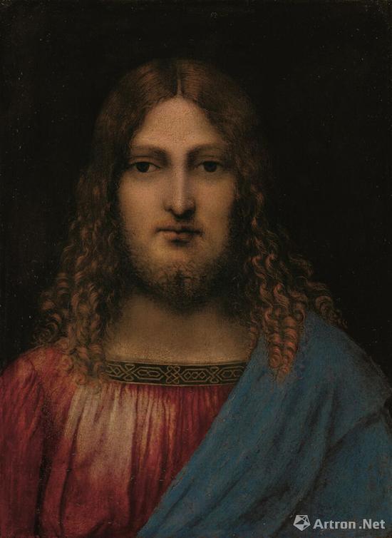 达·芬奇周边人士《基督半身像》87.4万英镑