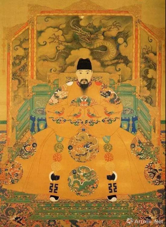 ▲明弘治皇帝像 藏于台北故宫博物院