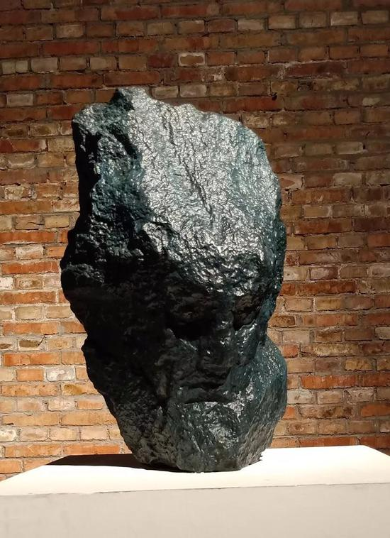 王志刚 《贝多芬》 材质铸铜45×40×60cm  2017