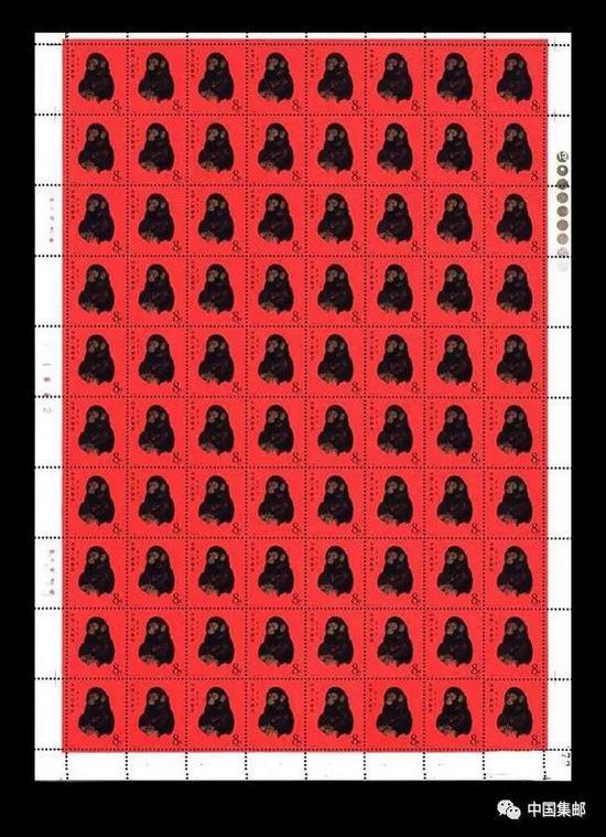 我国的生肖邮票原来还有这么多的版式生肖邮票猪票猴票