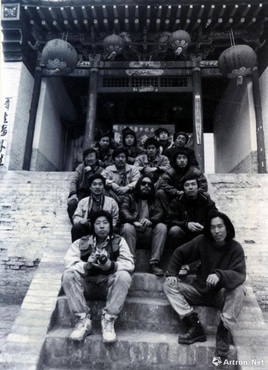 宋永平摄影作品《乡村计划》 1993
