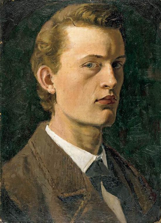 自画像 1882年 油彩