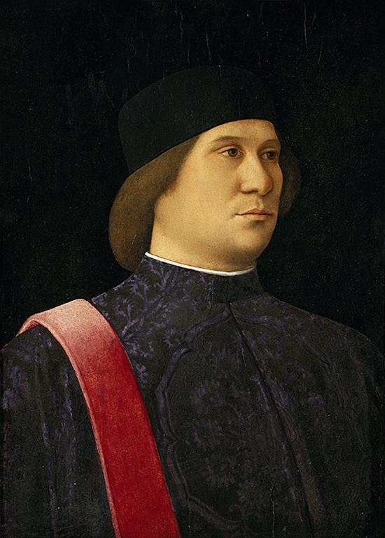 《行政长官的肖像》、乔凡尼·贝利尼,木板油画,约1507年