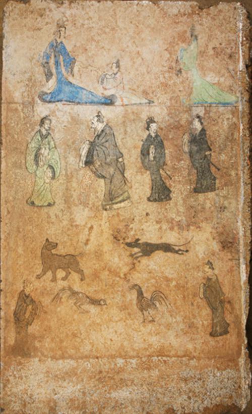 东平汉墓壁画(汉)