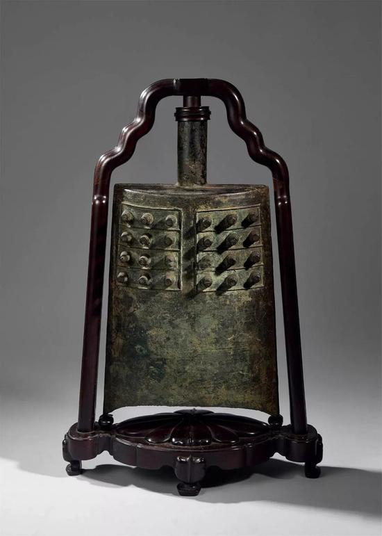 846 战国 青铜编钟成交价:7,166,400日元