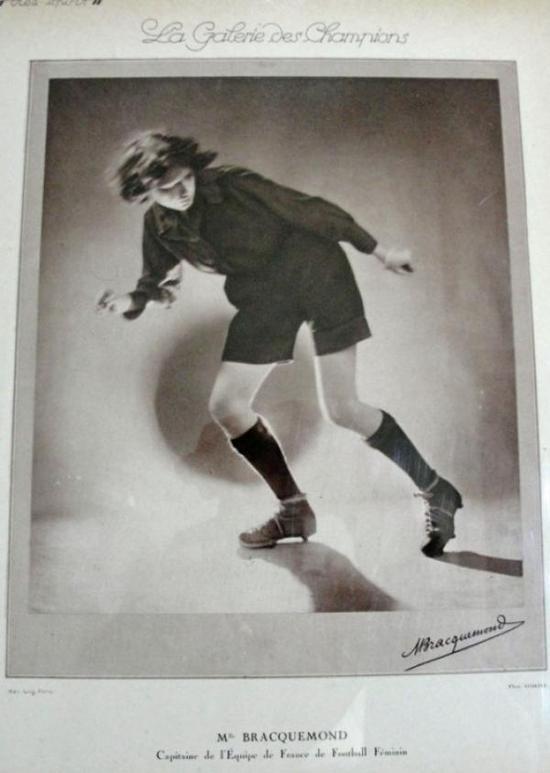 摄影师不详,《布拉克蒙女士》(1920)
