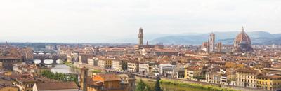 佛罗伦萨城市景观。