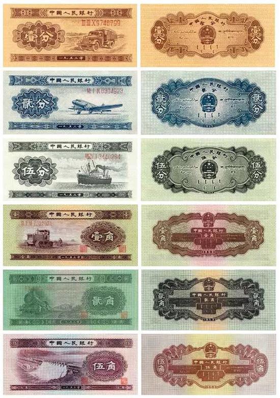 人民币上的图案是谁绘制的