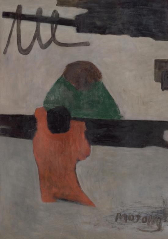 《无题》,贺慕群,油画