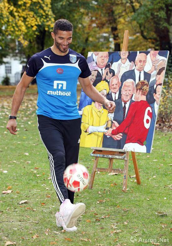 这届世界杯门将很行 其实守门员在艺术界也很行