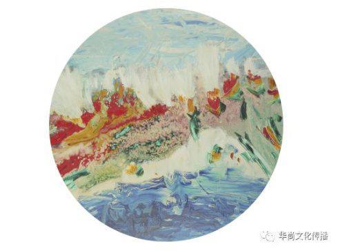 《香飘风灵 fragrant》 120cm×100cm 布面油画