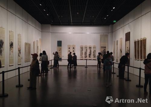 """2013年""""海上生明月""""海派艺术进齐鲁展现场"""