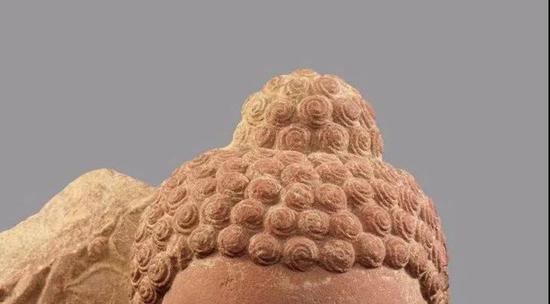 佛像的螺发
