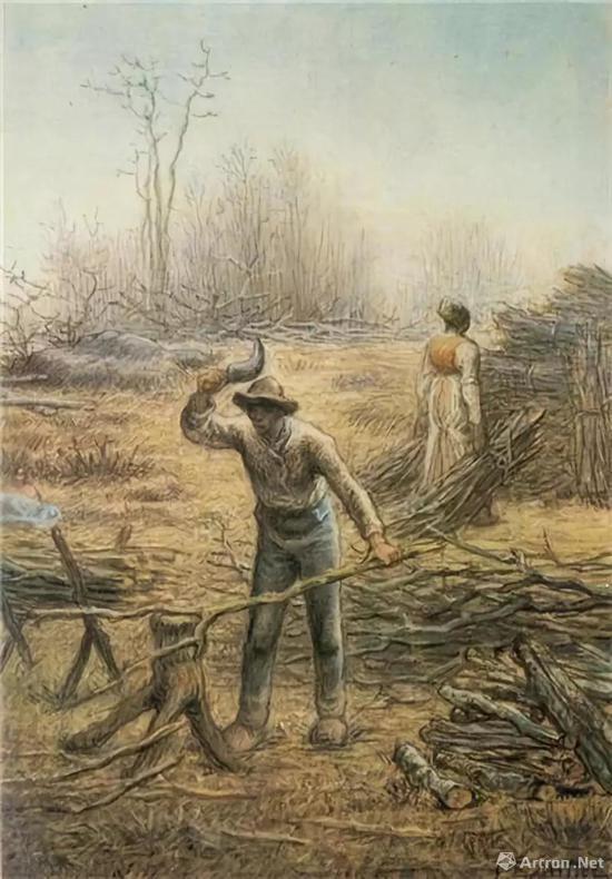 ▲《伐木工人》