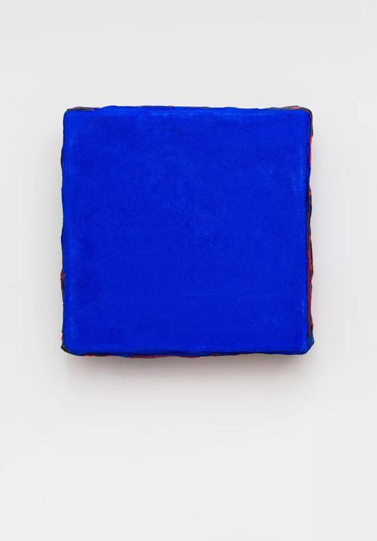 《无题2015 12-9。》,33X33cm,丙烯木板 ,2015-2016