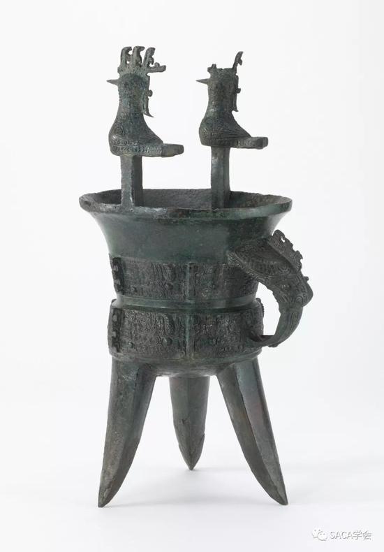 ▲ 凤柱斝,弗里尔博物馆藏