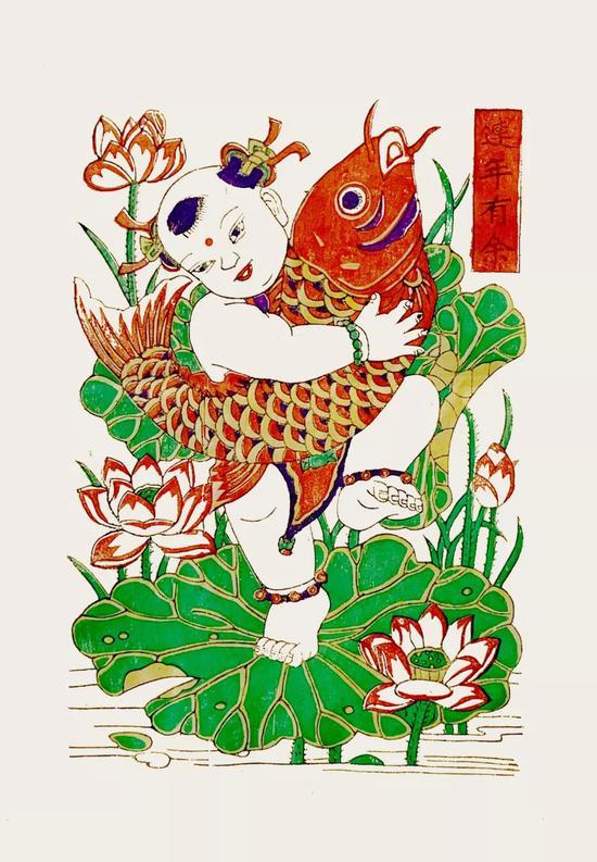 朱仙镇木版年画是中国四大年画之一,也是传承最久、工艺保存最完整的木版年画。为大家准备的两幅作品,来自朱仙镇木版年画德源恒老店传承人陈学华,从事木版年画研究工作20年,作品曾入选美术课本。