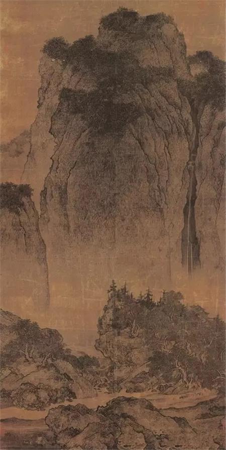 宋 范宽 《溪山行旅图》