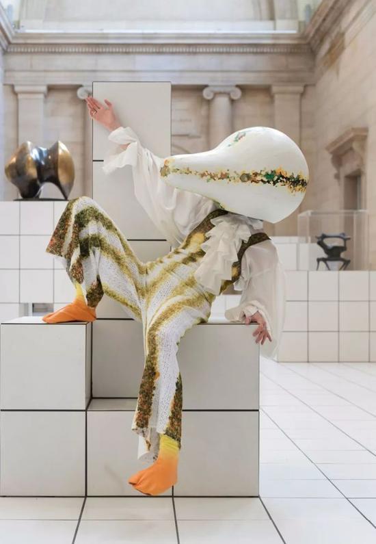 泰特现代美术馆演员在表演