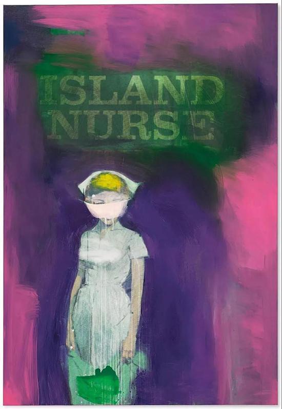 拍品编号41C理查德·普林斯(1949年生)《岛屿护士》