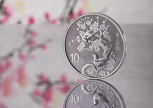 赏析2019吉祥文化喜上眉梢纪念银币