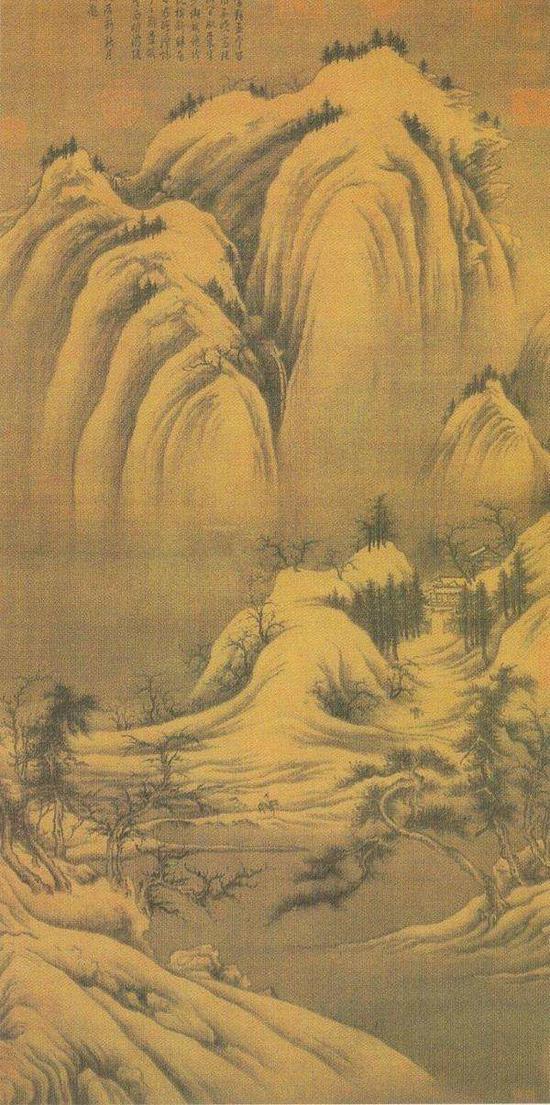 北宋 巨然 《雪景图》 台北故宫博物院藏