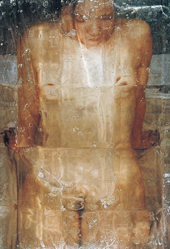 石冲《物语5》布面油画 138×98cm 2003