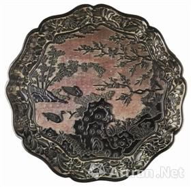 大英博物馆藏中国元明时期雕漆盘鉴赏