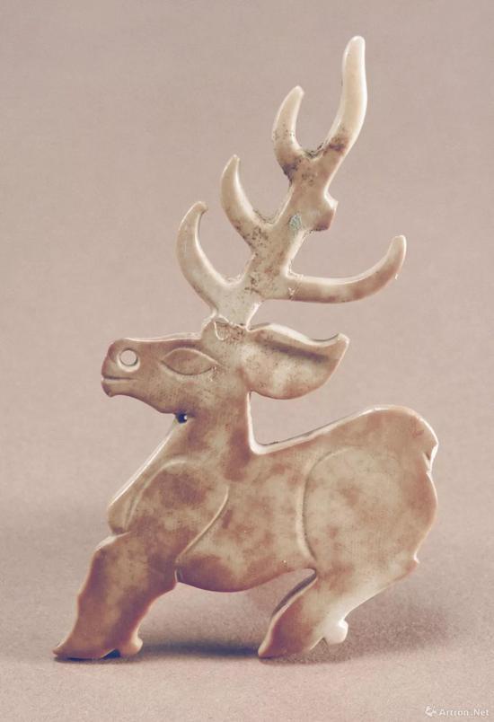 河南博物院藏玉鹿