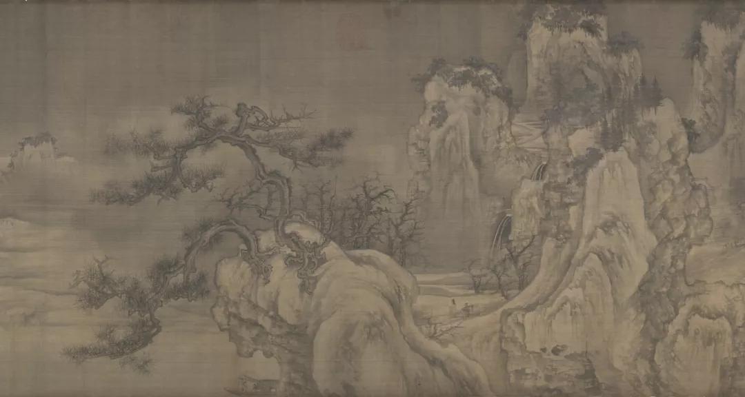 惠孝同 | 谈王诜和他的《渔村小雪》图卷
