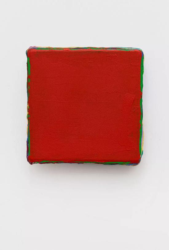 《无题2015 12-10。》,33X33cm,丙烯木板 ,2015-2016